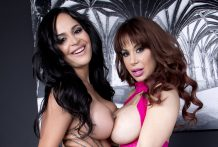 Pornstars Alyssa Lynn and Kimberly Kendall LIVE