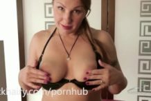Dana Karnevali fingers her vagina untill this babe ejaculates