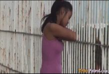 Youthful Filipina hustler copulates like a naughty beast outdoors