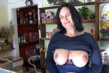 F-Sized Bra-stuffers Aged Receive Pounded in Flower Store