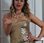 Spectacular lascivious housewife Abi Toyne