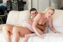 Clover gives the new-comer Miley May greater amount monster this babe can treat