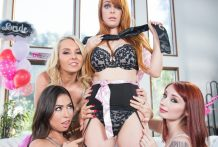 Cord-On Stories: Group sex Bachelorette