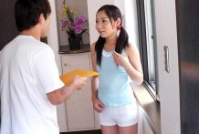 Home alone Lulu Kinouchi is fucked large time