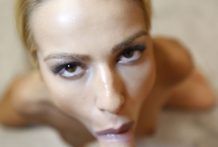 Attractive blonde Ivana from Serbia becomes wild wanton anal slut on first date