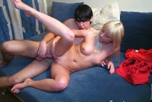 Youthful blonde Vicky receives screwed firm