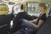Czech Taxi – Golden-haired Teenage receives rail of her LIFE