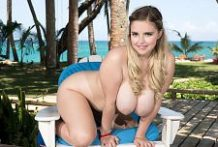 The All-American Blonde Is An Island Swinger