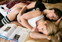 Late examining turns two luxurious ladies into lustful youthful teenagers