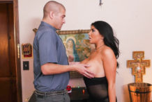 Large tittied stunner Romi Rain pounded in cunt by Xander Corvus