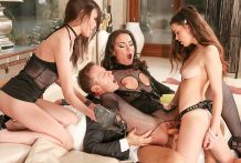 Rocco's Fuckfest With 3 Psycho Teenagers