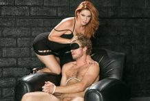 Cheating Michael Vegas complies & copulates redheaded Edyn Blair.