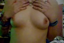 Homemade Movie – Damsel with Puny Bra-stuffers