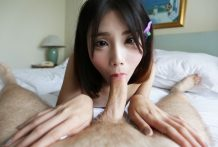 Small timid Shemale from Bangkok shows not-so-innocent demeanor