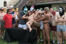 CZECH GANG BANG PARTY animal play MILL