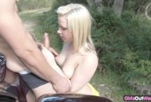Frisky inexperienced blondie wails in fun during the time that pounded