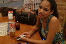 Internet dating leads to molten hotel hookup with tipsy Filipina Vanessa