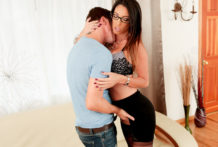 Jessy has been lusting after his stepmom Dava Foxx