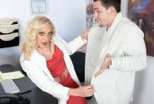 The doctor is in. The jizz is in her slit