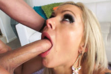 Buxomy Stunner's Unfathomable-Deepthroating Hooter Nail