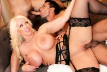 Bi 3-Manner: Homosexual Guys Seduce MILF BBW!