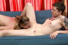 Hot lesbians play with toys and make each other so wet!