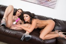 Adriana Chechik and Dillion Harper LIVE