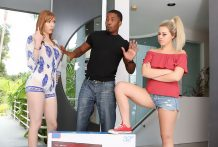 Zoey Monroe and Lauren Phillips Work Out a Compromise