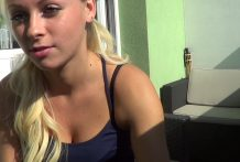 Incredible Scorching Czech Blonde in Motion