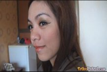 Lovely doe-eyed Filipina lady joins male vacationer for early resort intercourse romp