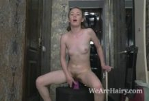 Emma Fable masturbates in her hallway to play