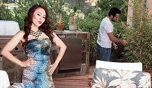 Crimson-hot mother I'd like to fuck Claudia receives ass-fucked by the gardener