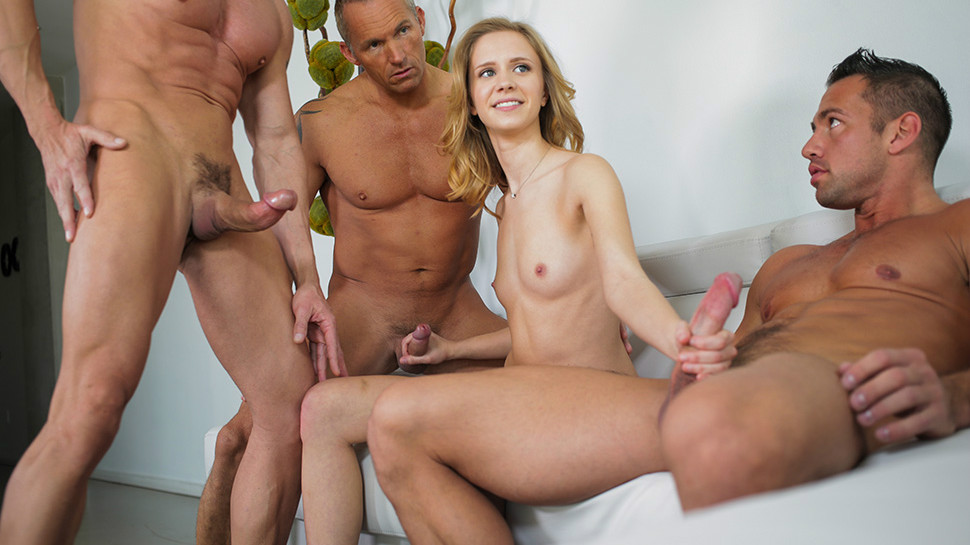 Samples male gangbang